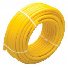 Mangueira/Tubo Isolador de Polietileno para Cerca Elétrica Rural 25m Amarela