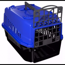 Caixa de Transporte para Cães e Gatos nº 1 Azul