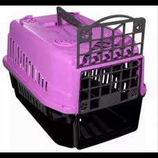 Caixa de Transporte para Cães e Gatos nº1 Rosa
