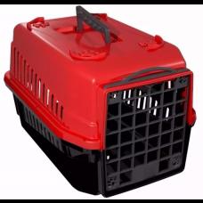 Caixa de Transporte para Cães e Gatos nº1 Vermelho