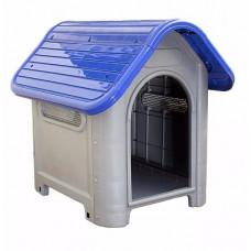Casinha De Cachorro Plástica Desmontável Número 3 Azul