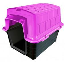 Casinha de Cachorro Plástica Numero 5 Rosa