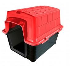 Casinha de Cachorro Plástica Numero 5 Vermelha