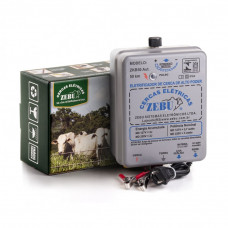 Eletrificador Rural Zebu 50km Luz e Bateria 12v 2J ZKB50
