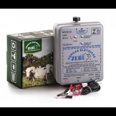 Eletrificador Rural Zebu 80km 5J Luz e Bateria 12V LB80