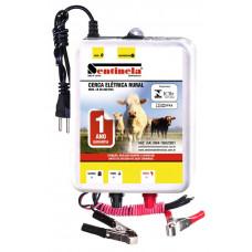 Eletrificador De Cerca Rural Sentinela 50km Luz E Bateria