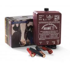 Eletrificador Rural Zebu 50km Luz e Bateria 12v 2J LB50