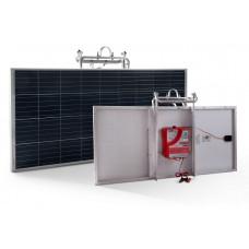 Eletrificador Solar para Cerca Elétrica Rural Zebu 300km 18J ZS300i
