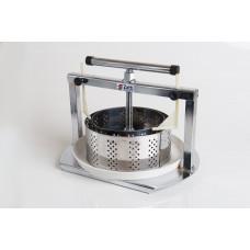 Prensa para Queijo Cromada Zatti 2 formas Inox 500g e 1kg