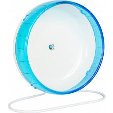 Rodinha Acrílica de Exercício para Hamster 18cm Azul