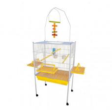 Viveiro para Calopsita Papagaio e outros Pássaros Jel Plast Triplex Amarelo